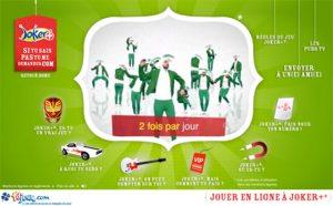 FdJ publicité Joker+