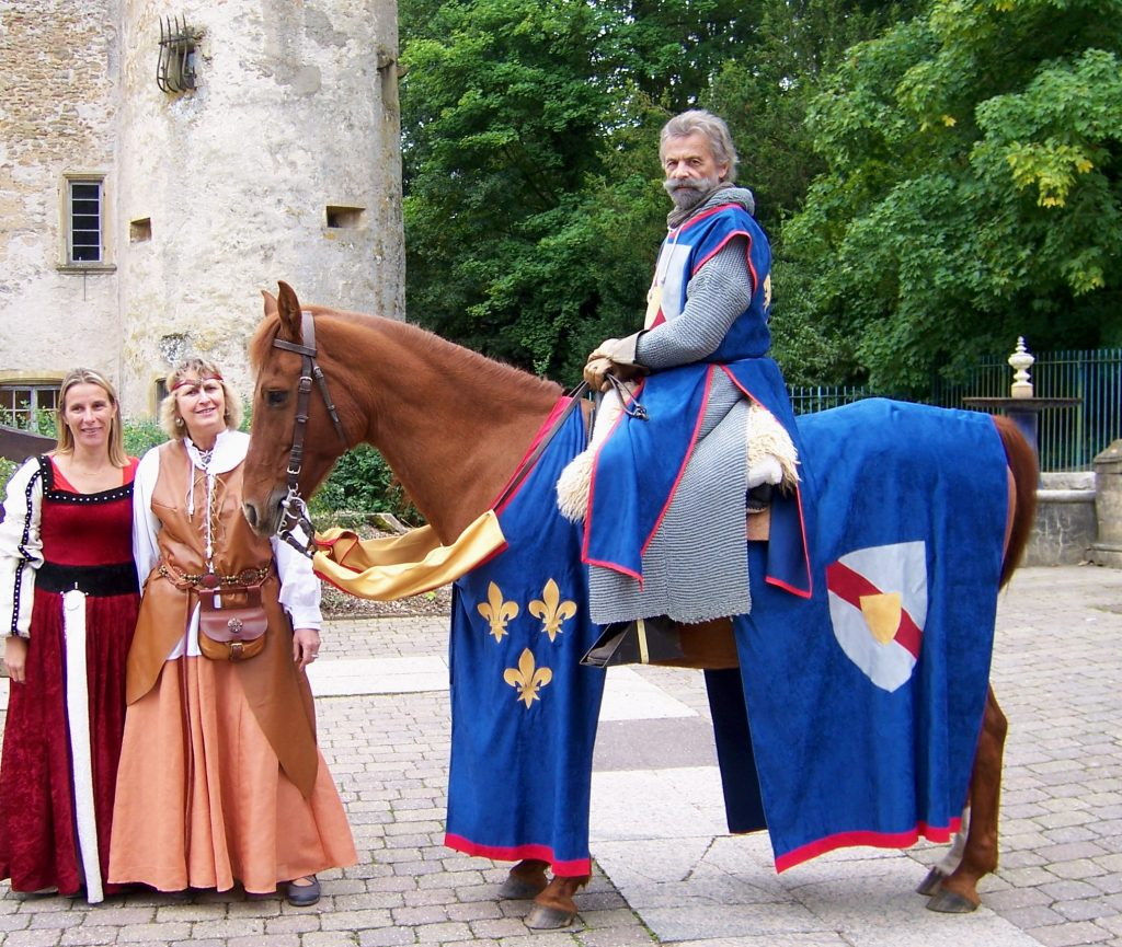 Château de Volkrange : Sieur Guerlach et les dames