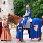Sieur Guerlach au château de Volkrange