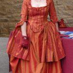 Costume taffetas XVIII