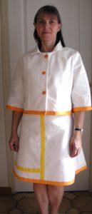 Robe et veste  FDJ pour Roland Garos