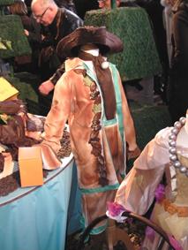 Salon du chocolat Vaux le Vicomte costume de garçon chocolaté