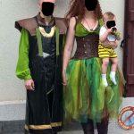 mariage cosplay Loki et Poison Ivy