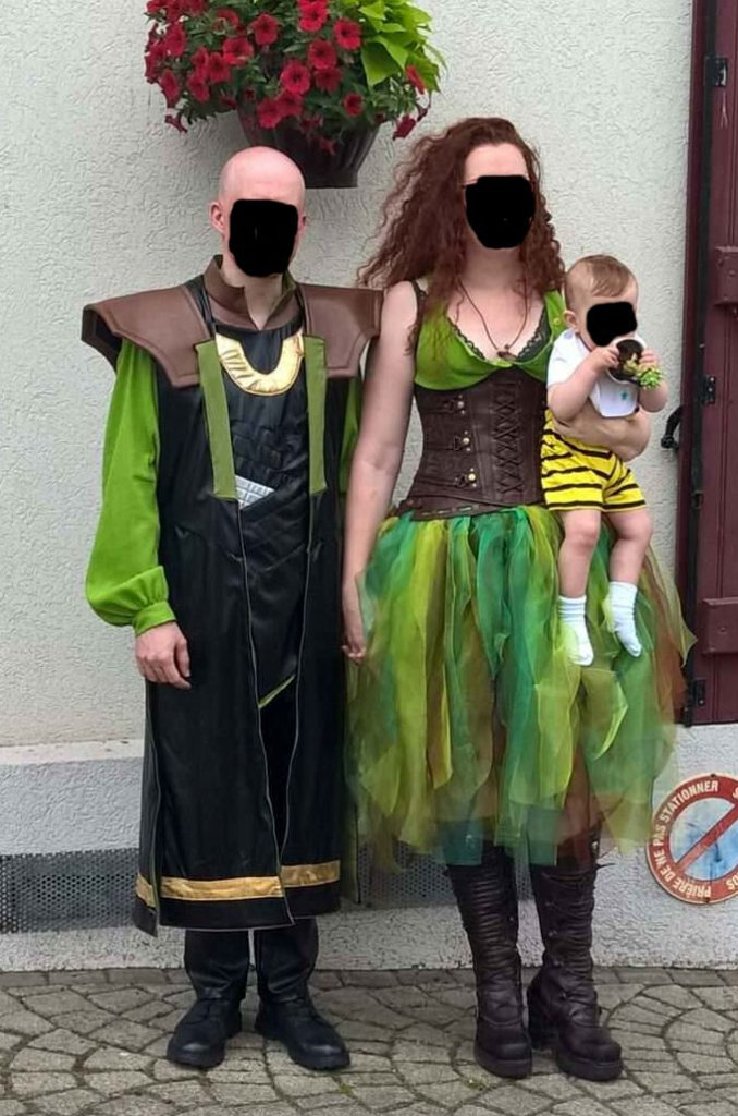 mariage Loki et Poison Ivy