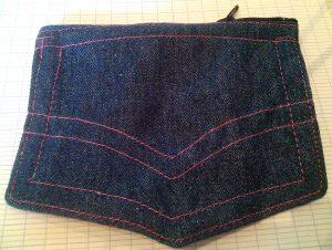 Pochettes en jean pour Shop It !