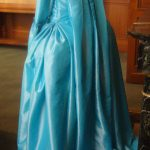 Robe à la francaise plis Watteau