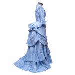 Robe XIXè siècle à tournure