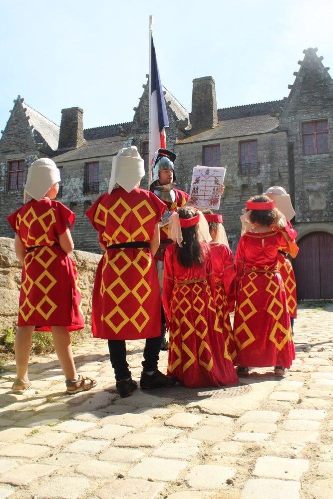 Visite costumée du château des Rohan